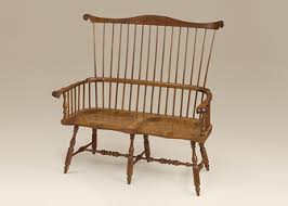 Colonial Settee Benches U0026 Settees Great Windsor Chairs