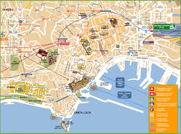 Map Of Berlin Germany by Naples Tourist Attractions Map