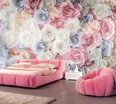 many texture rose flower wallpaper 3d wall mural living room tv