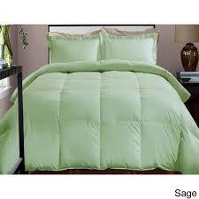 Hotel Grand Down Alternative Comforter Hotel Grand 600 Thread Count Down Alternative Comforter Twin Sage