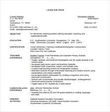 Reading Teacher Resume Teacher Resume 9 Samples Examples Format
