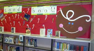 winter bulletin board ideas library learners