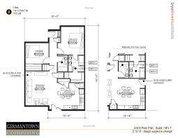 two bedroom homes u2013 germantown commons