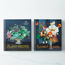 the plant recipe and the flower recipe books signed copies on food52