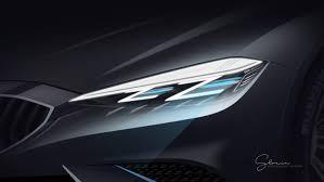 bmw laser headlights sketches leftout on behance