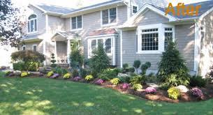 House Landscaping Landscaping Ideas For Front Of House Landscape Design Old