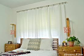Tarva Bed Hack by Tour Boho Vintage Eclectic Bedroom A Designer At Home