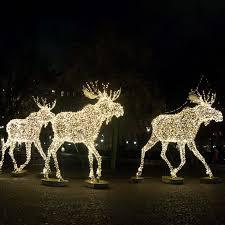 lawn reindeer with lights lawn reindeer with lights outdoor lighted christmas sculpture lights