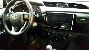 2016 toyota hilux interior and exterior leaked photos 1 of 3