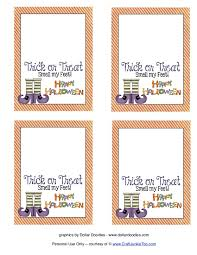 Free Printable Halloween Sheets by Free Halloween Treat Bag Printables U2013 Fun For Halloween