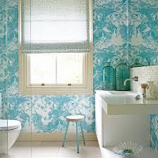 Waterproof Wallpaper For Bathrooms Bathroom Wallpapers Ideal Home