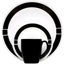 corelle black friday deals 2017 corelle livingware urban 16 piece dinnerware set black walmart com