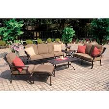 Patio Chair And Ottoman Set Chair U0026 Ottoman Sets Patio Furniture Shop The Best Outdoor