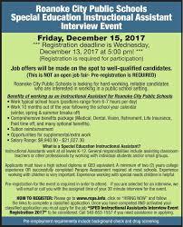 Job Res by Roanoke City Schools Human Res Ads Roanoke Com