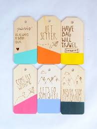 wedding luggage tags diy color dipped etched luggage tag tutorial best friends for