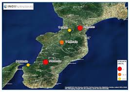 Italy Earthquake Map The Terrifying Calabria Earthquake Series Of 1783 Was Probably