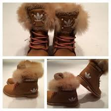 womens fur boots uk shoes winter boots winter sports adidas boots brown adidas