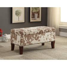 Light Brown Ottoman by Stephanie Udder Madness Light Brown Palomino Bench With Dark