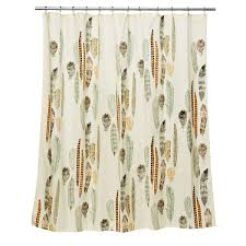 Shower Curtain Floating Feathers Shower Curtain Cotton Shower Curtain