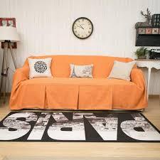 Orange Sofa Throw Karuilu Washable Shades Curtains Sofa Throw U0026 More