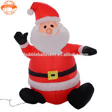 inflatable santa with camper inflatable santa with camper