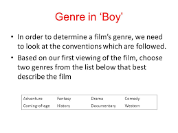 fantasy film genre conventions genre in boy defining genre films or novels can be classified by