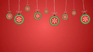 Christmas Cutout Decorations Baubles Swinging Loop Hd An Animated Background Loop Created In A