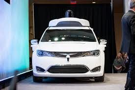 chrysler car google u0027s new self driving minivans will be hitting the road at the