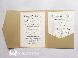 Pocket Invitations Lace Wedding Invitations Free Shipping
