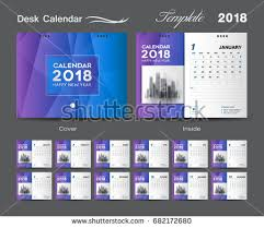 free blue 2018 calendar desk vector download free vector art
