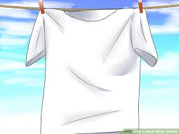What Temperature Do I Wash Colors - how to wash white clothes 13 steps with pictures wikihow