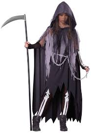 scary costumes for halloween miss reaper tween costume buycostumes com