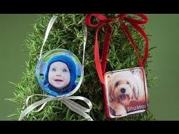 diy resin photo ornaments by windows