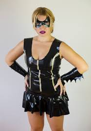 batgirl catwoman latex mask halloween costume