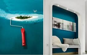 wall color lagoon u2013 you feel the sea breeze and the home