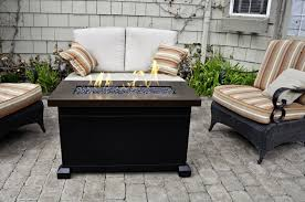 Allen And Roth Outdoor Furniture by Furniture Ideas Rectangle Fire Pit Table With Rattan Patio