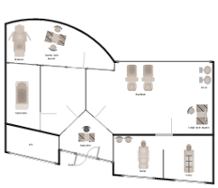 day spa floor plan layout day spa