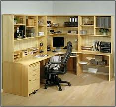 Office Desk Wall Unit Office Desk Wall Unit Office Wall Unit With Peninsula Desk Home