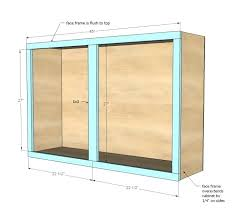 Unfinished Wall Cabinets With Glass Doors Unfinished Wall Cabinets Harmonyradio Co