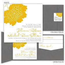 Pocket Wedding Invitations Square Folio Pocket Wedding Invitations