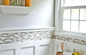 wainscoting ideas bathroom pictures of small bathrooms with wainscoting bathroom makeovers