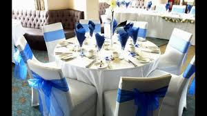royal blue white and silver wedding decor archives decorating of