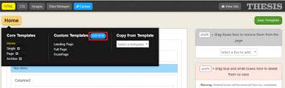 how to create custom page without any coding or plugin using