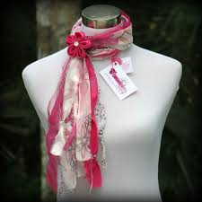 breast cancer awareness scarf limited edition firecracker