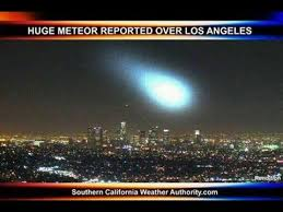 light in sky today fire in the sky a meteor lights up the night sky over southern