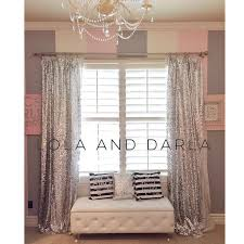 Pink Sparkle Curtains Gold Sparkle Curtains Pink Gold Sparkle Sequin Garland Curtain