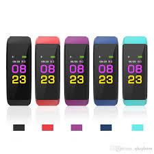 life bracelet app images 115plus color screen smart bracelet exercise step rate heart jpg