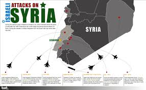 Map Of Syria And Israel by Syria Threatens To Hit Back After Deadly Israel Raids Al Arabiya