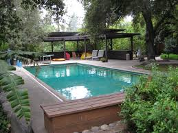 film altadena estate with mid century pool cabana and gazebo
