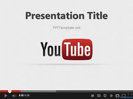 Powerpoint Resume Youtube Powerpoint Template Free Youtube Ppt Template Download